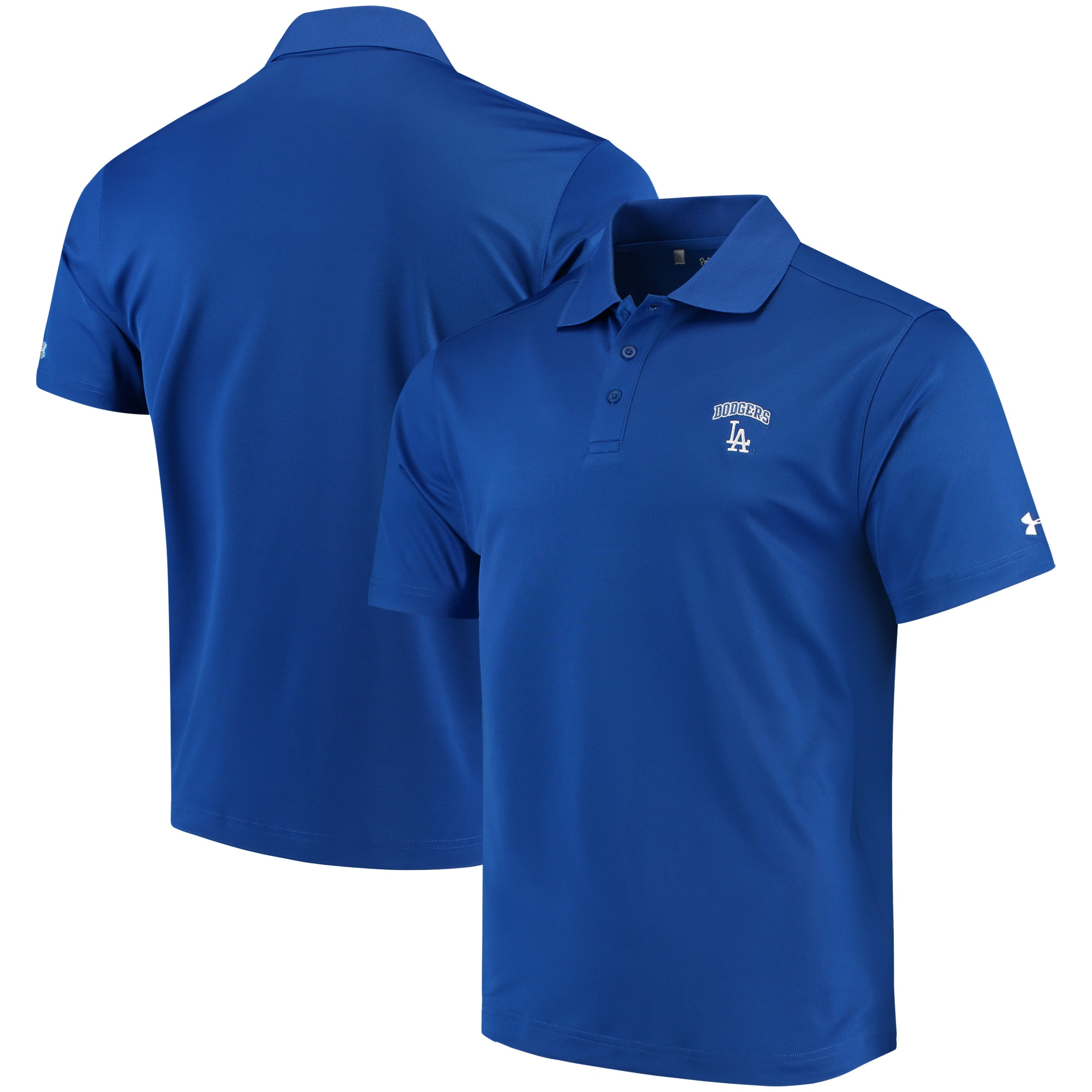 Los Angeles Dodgers Under Armour Performance Polo - Royal