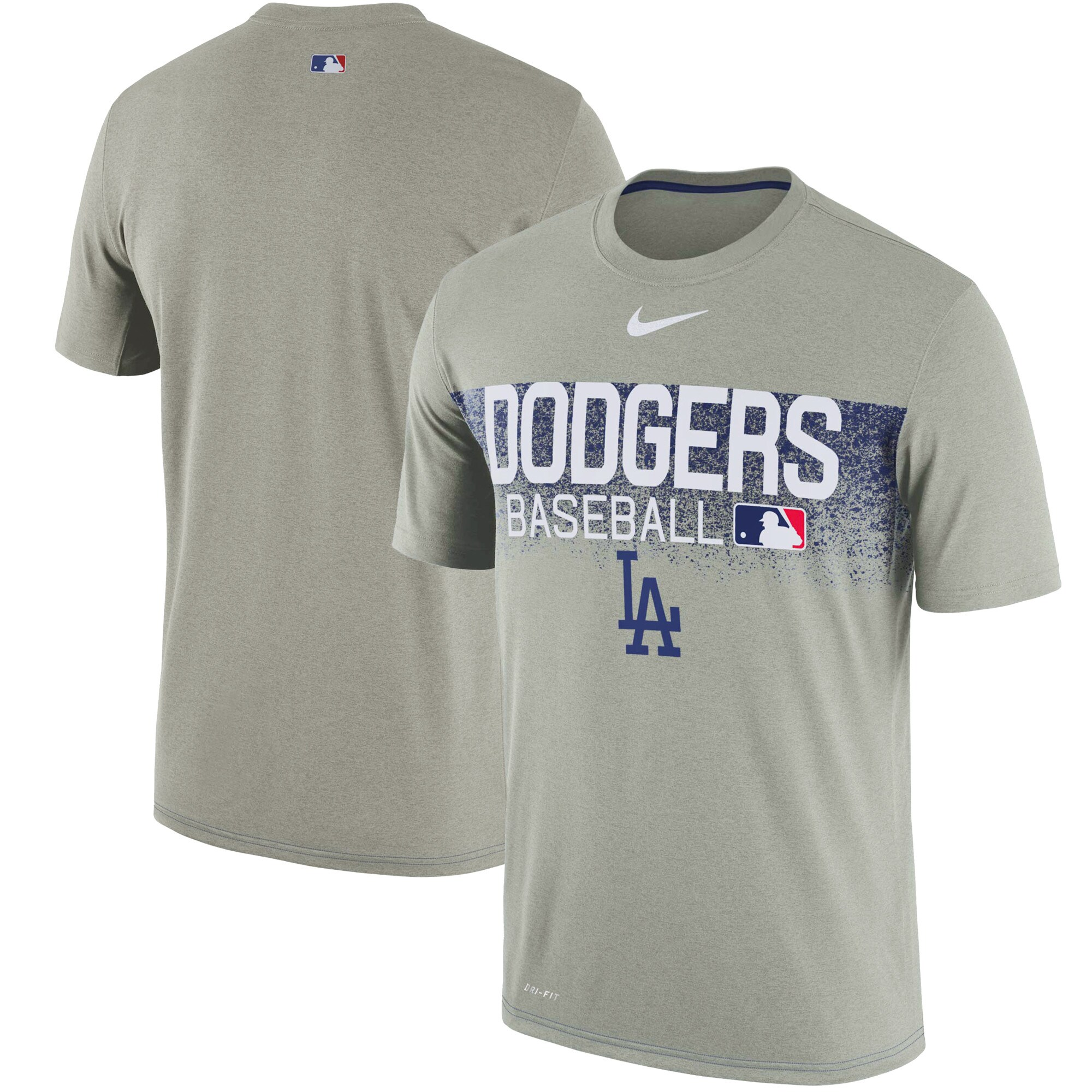 Los Angeles Dodgers Nike Authentic Collection Legend Team Issued Performance T-Shirt - Gray