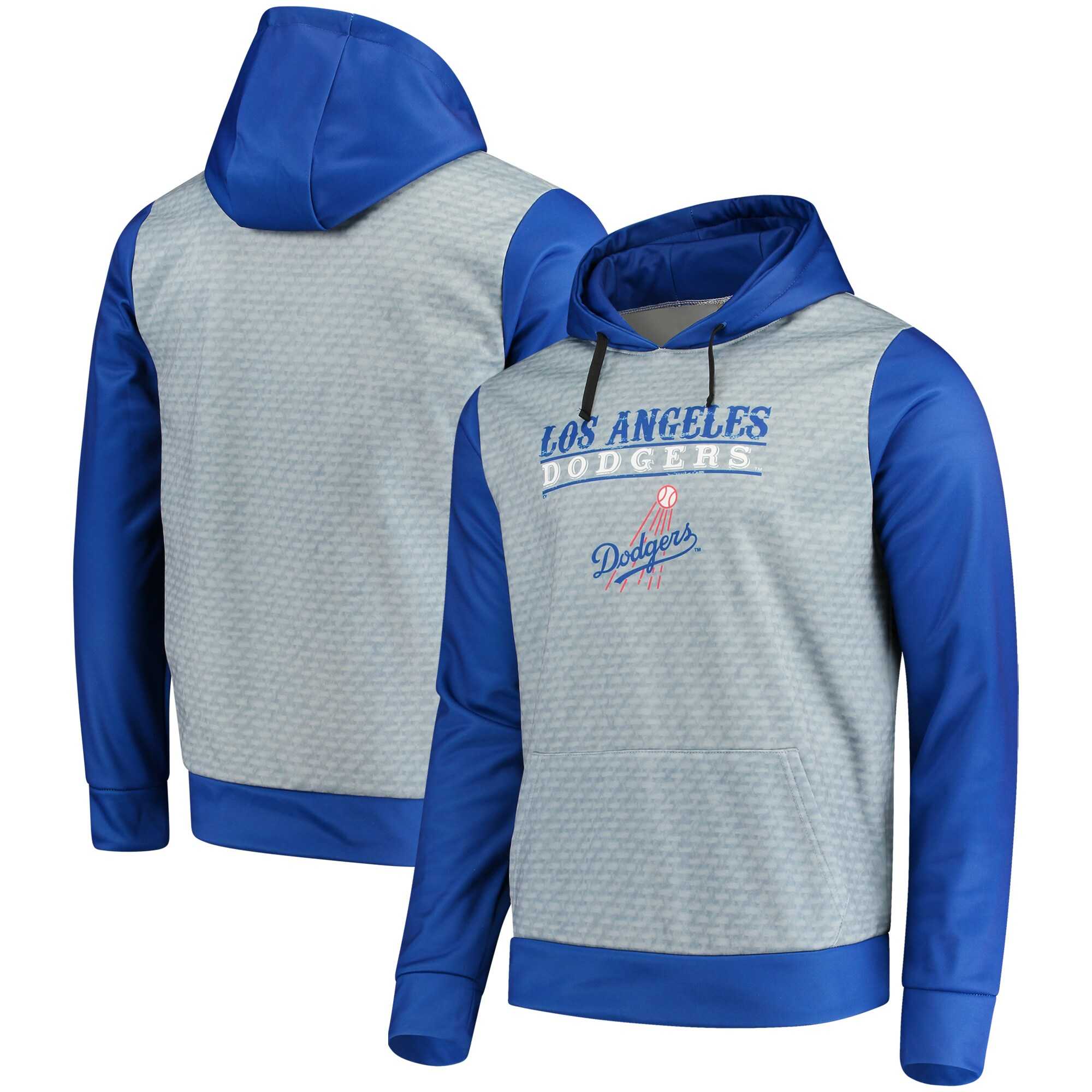 Los Angeles Dodgers Cooperstown Collection Pullover Hoodie - Royal