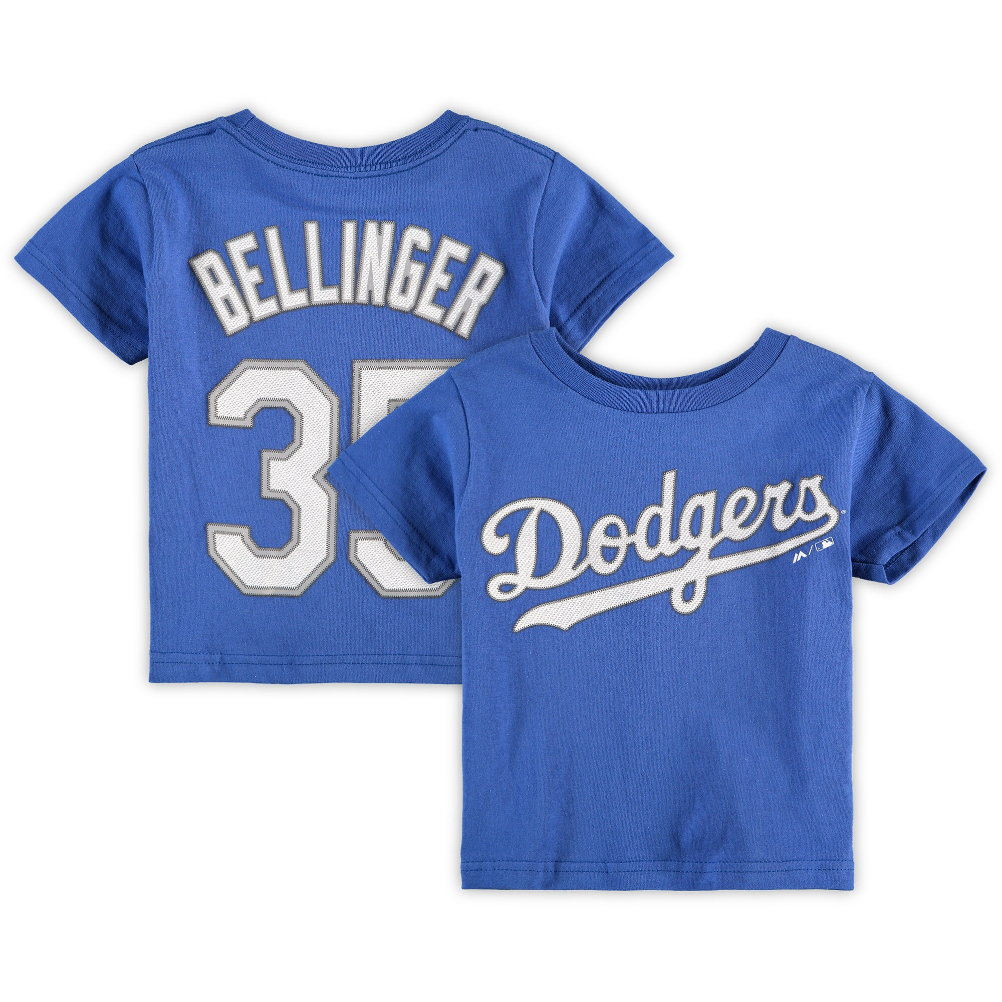 Cody Bellinger Los Angeles Dodgers Majestic Toddler Player Name & Number T-Shirt - Royal