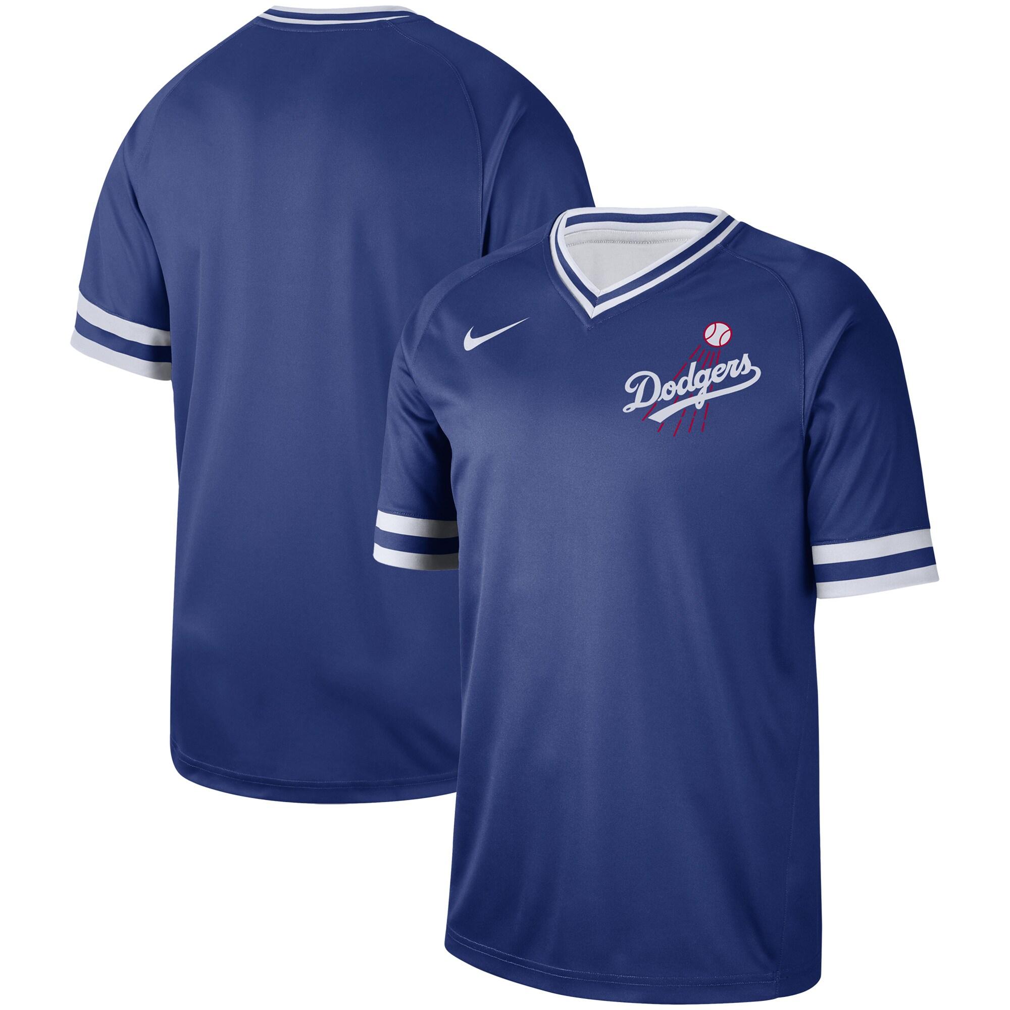 Los Angeles Dodgers Nike Cooperstown Collection Legend V-Neck Jersey - Royal