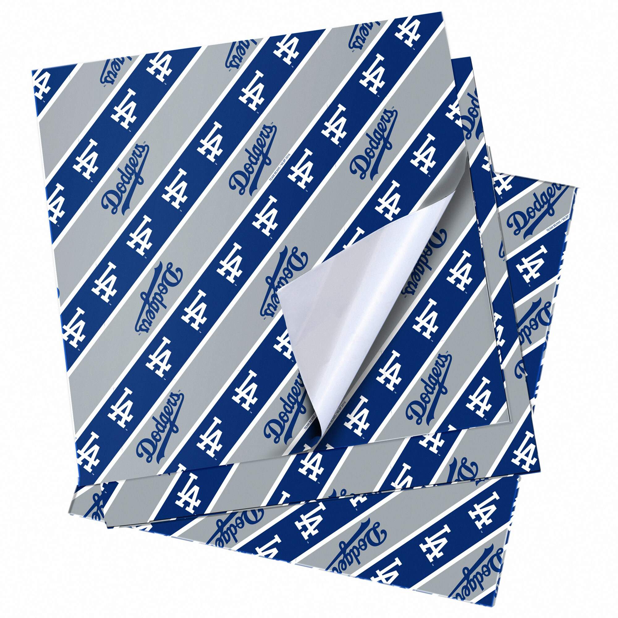 """Los Angeles Dodgers 20"""" x 30"""" Wrapping Paper"""