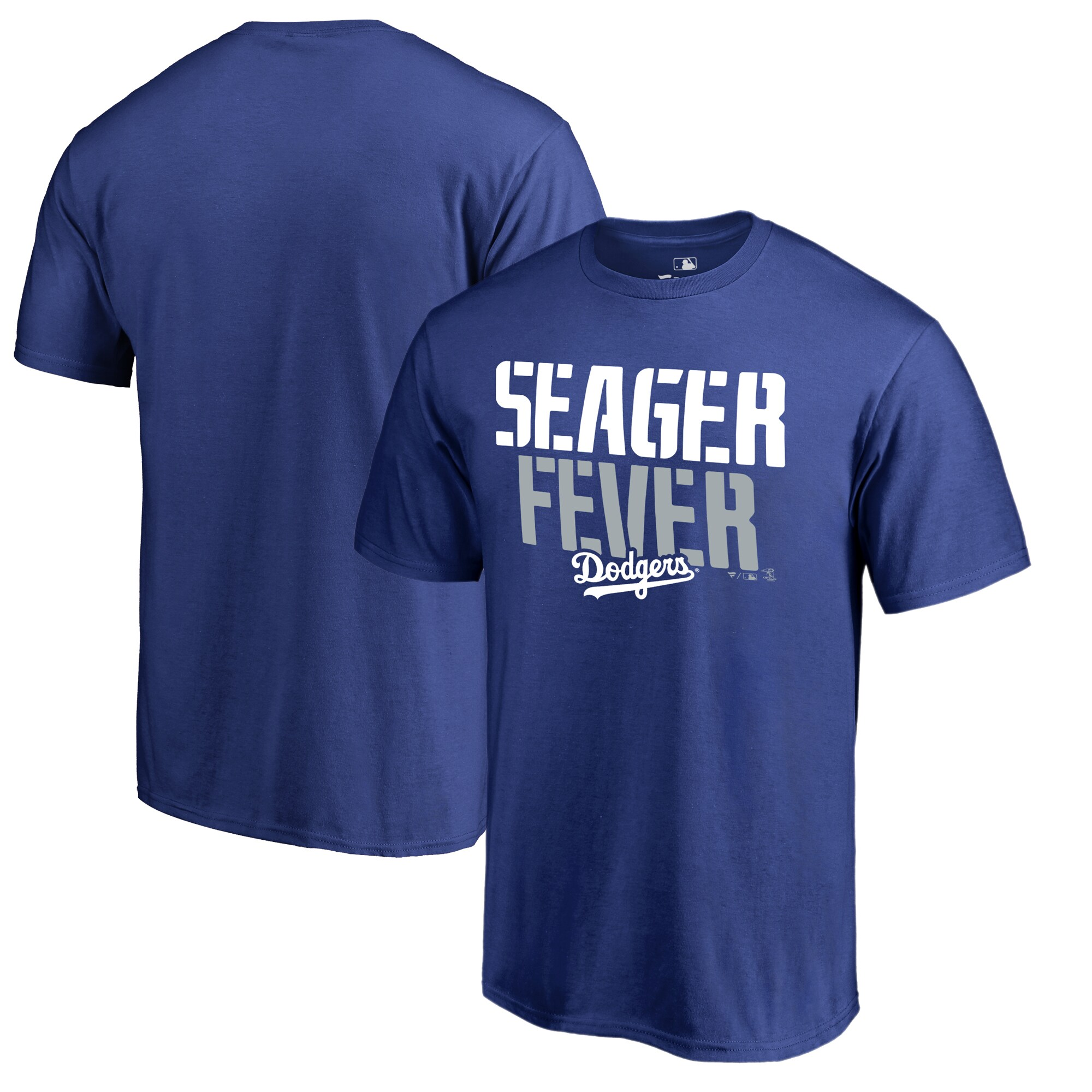 Corey Seager Los Angeles Dodgers Fanatics Branded Player Hometown Collection T-Shirt - Royal