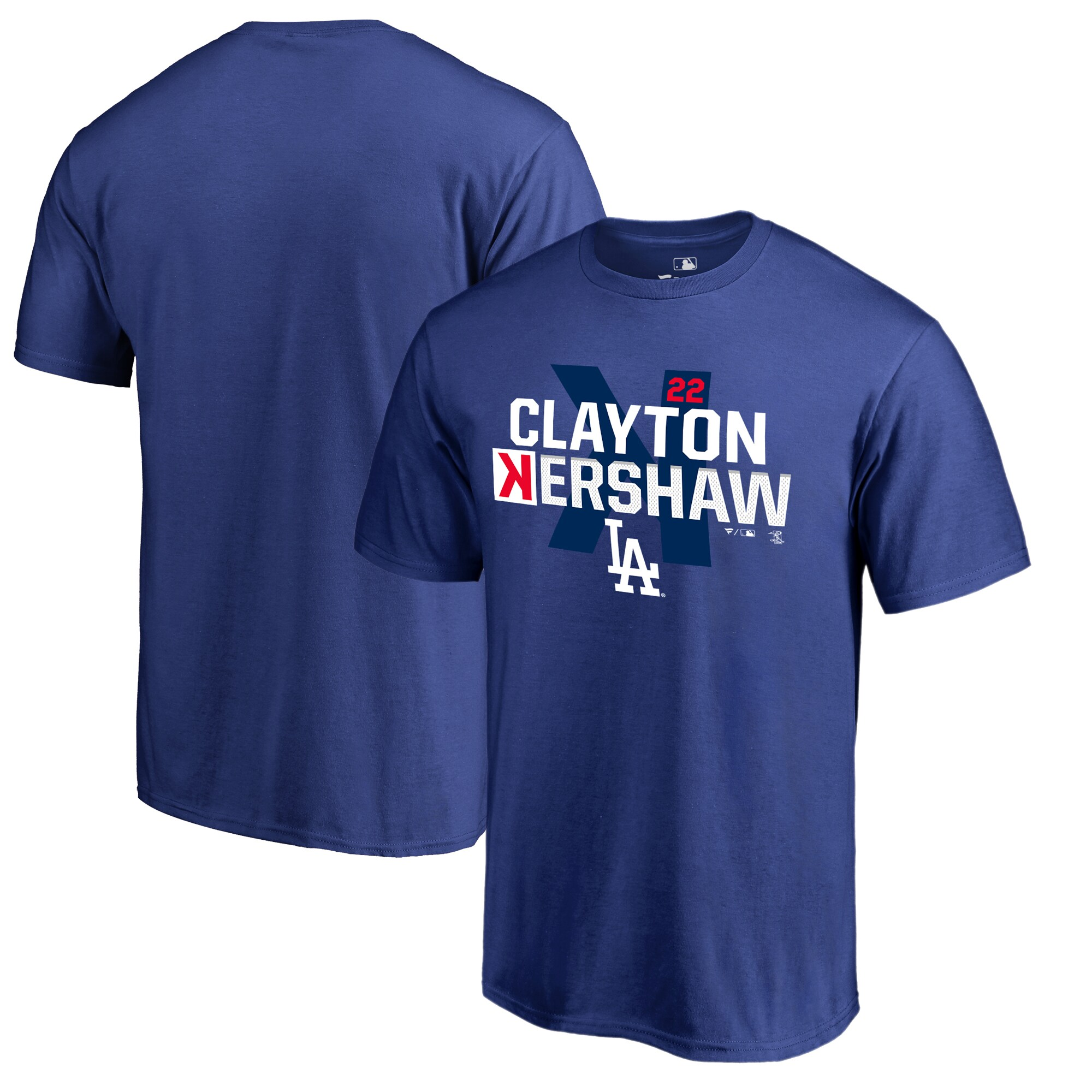 Clayton Kershaw Los Angeles Dodgers Fanatics Branded Player Hometown Collection Big & Tall T-Shirt - Royal