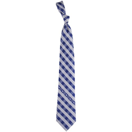 Los Angeles Dodgers Woven Checkered Tie