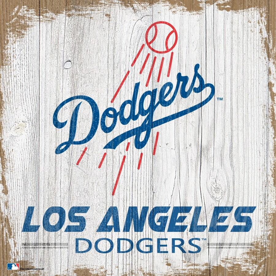 Los Angeles Dodgers 6'' x 6'' Team Logo Block