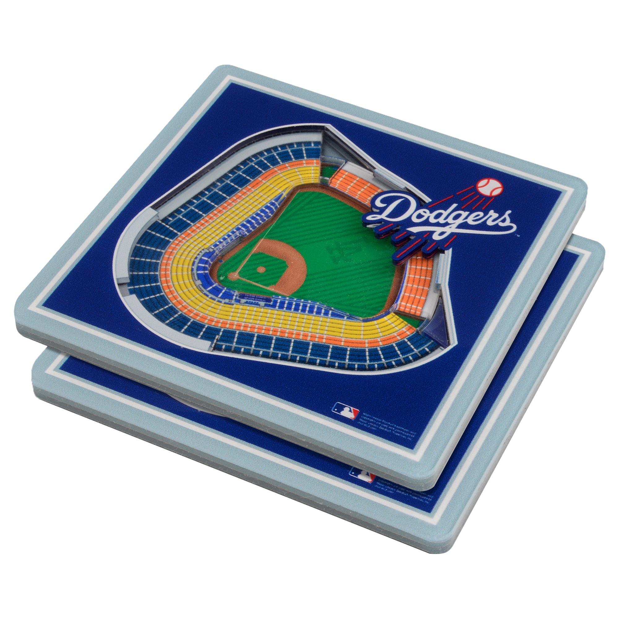 Los Angeles Dodgers 3D StadiumViews Coasters - Blue