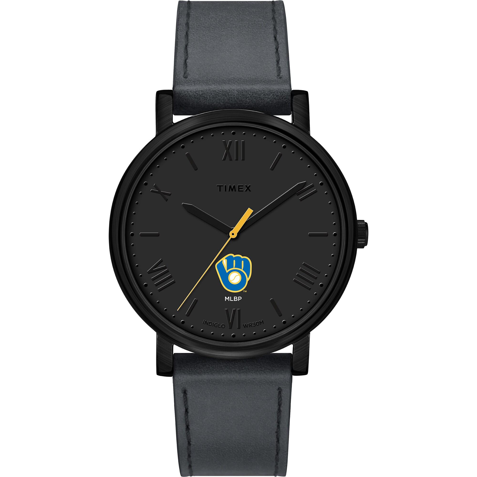 Milwaukee Brewers Timex Women's Night Game Watch