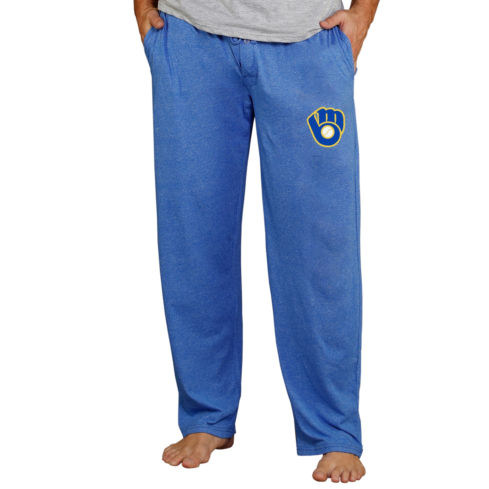 Milwaukee Brewers Concepts Sport Cooperstown Quest Lounge Pants - Royal