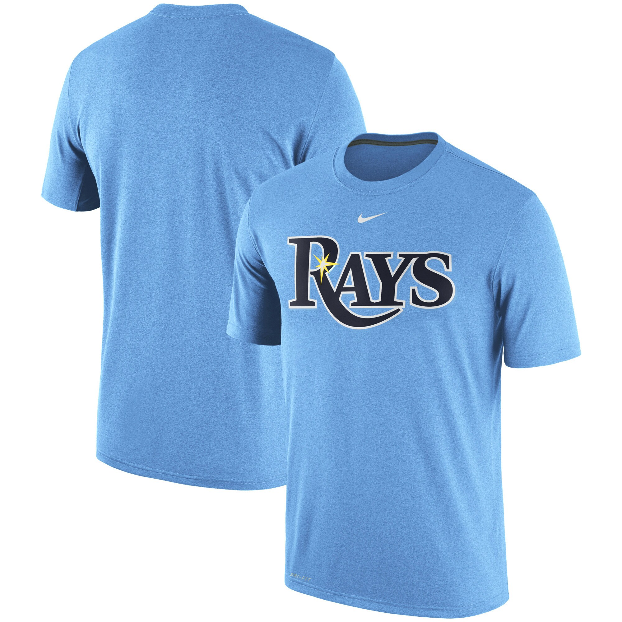 Tampa Bay Rays Nike Legend Primary Logo Performance T-Shirt - Blue