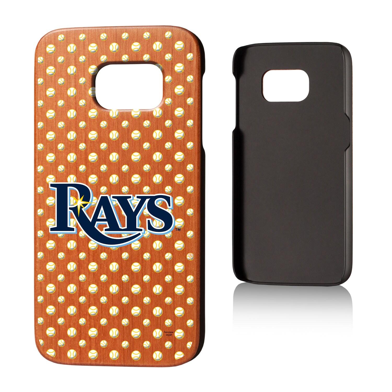 Tampa Bay Rays Galaxy S7 Cherry Wood Case