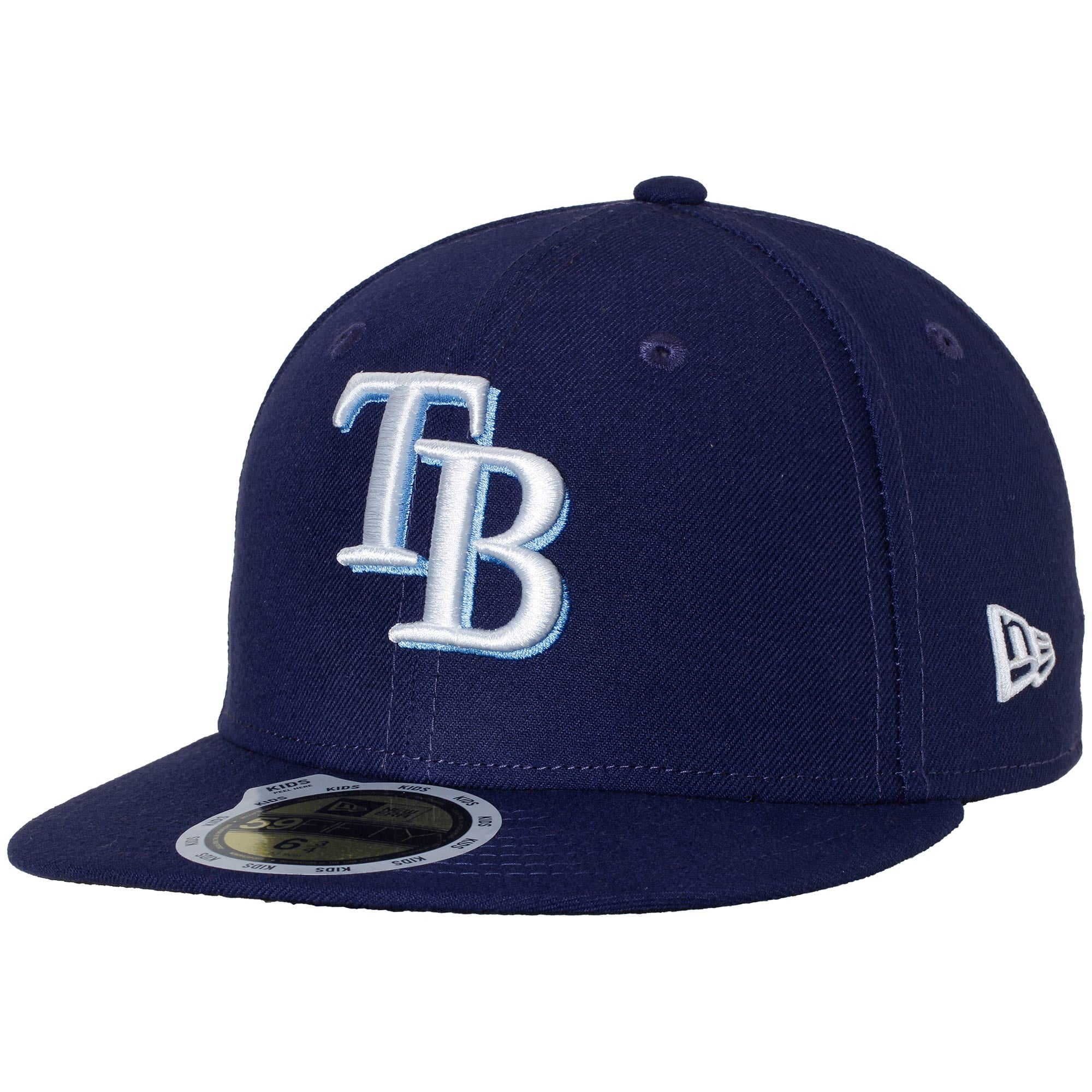Tampa Bay Rays New Era Youth Authentic Collection On-Field Game 59FIFTY Fitted Hat - Navy