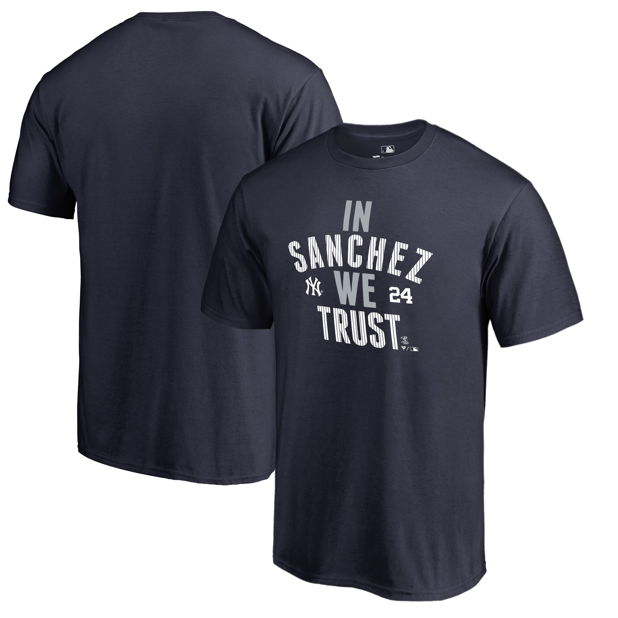 Gary Sanchez New York Yankees Fanatics Branded Player Hometown Collection T-Shirt - Navy