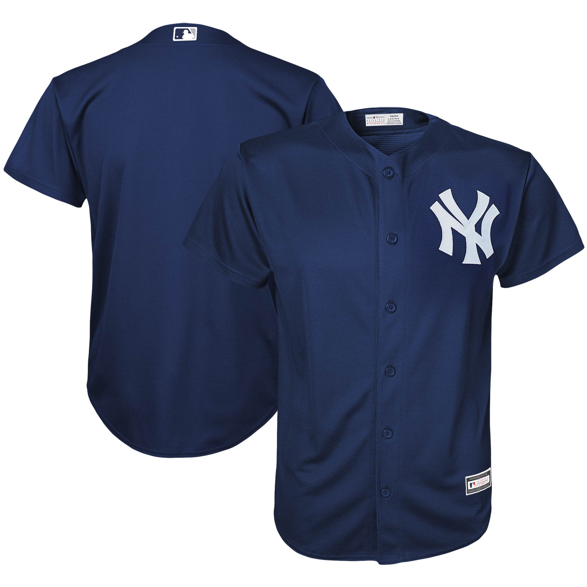 New York Yankees Youth Replica Team Jersey - Navy