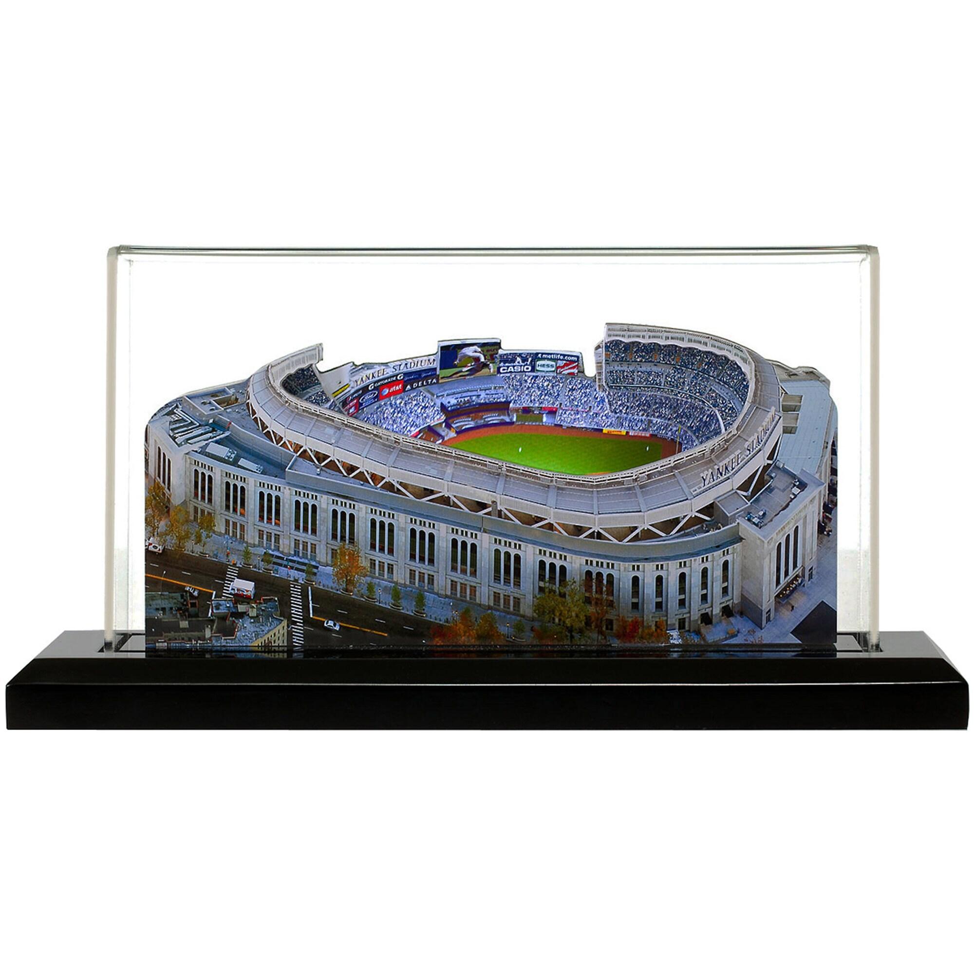 """New York Yankees 9"""" x 4"""" Yankee Stadium Light Up Replica Ballpark"""