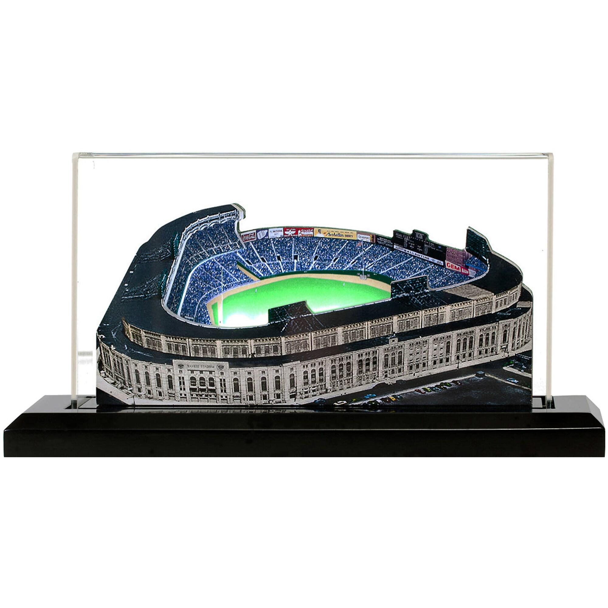"""New York Yankees 9"""" x 4"""" Yankee Stadium 1923-1973 Light Up Replica Ballpark"""