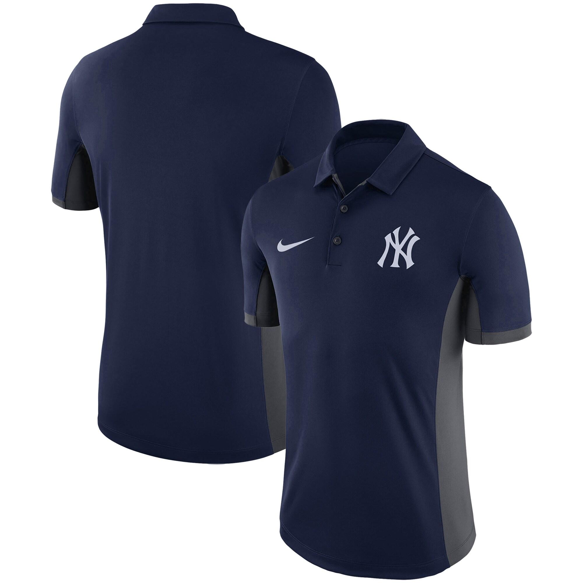 New York Yankees Nike Franchise Performance Polo - Navy