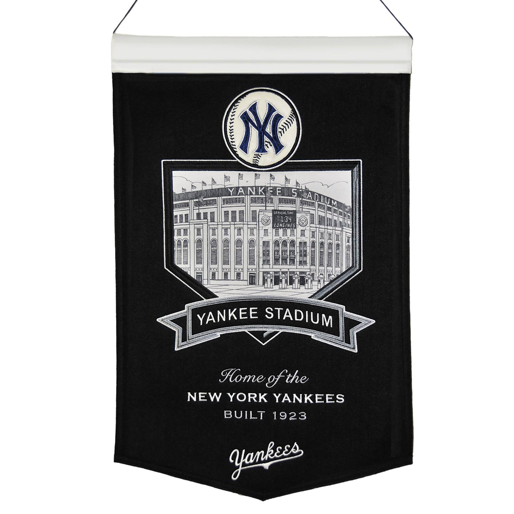 """New York Yankees 15"""" x 24"""" Yankee Stadium Banner"""