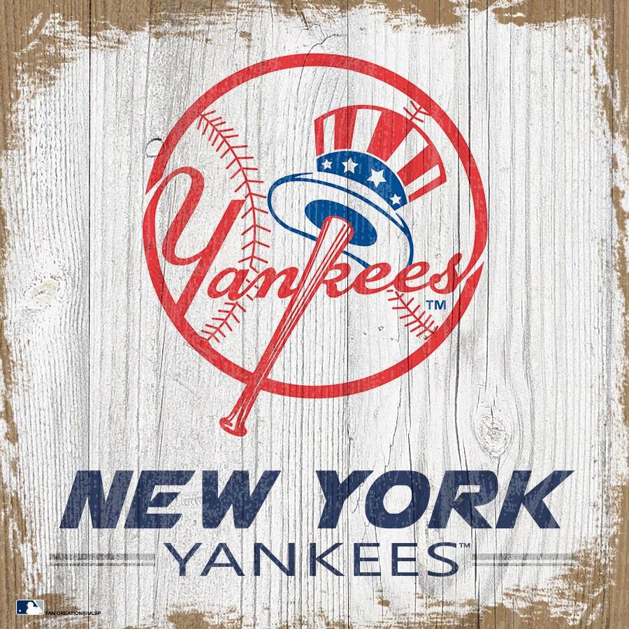 New York Yankees 6'' x 6'' Team Logo Block