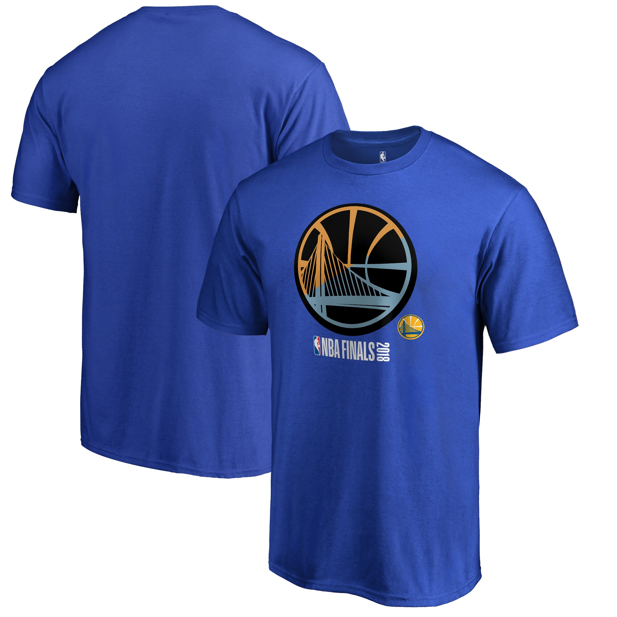 Golden State Warriors Fanatics Branded 2018 NBA Finals Bound Extended Run T-Shirt - Royal