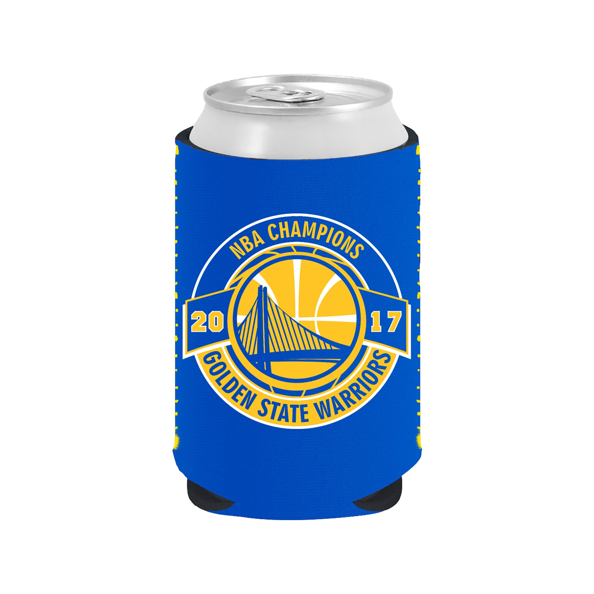 Golden State Warriors 2017 NBA Finals Champions Collapsible Can Cooler