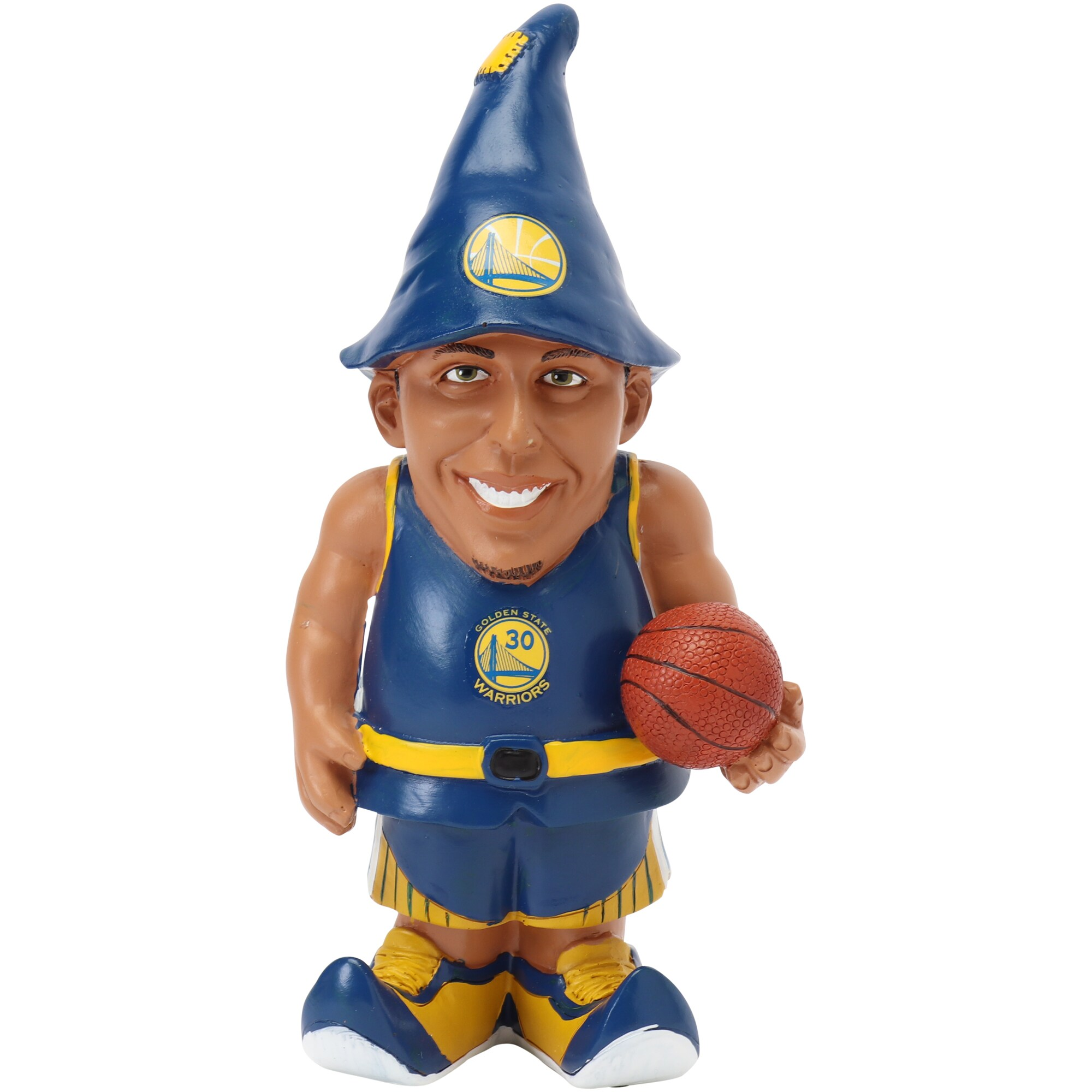 Stephen Curry Golden State Warriors Resin Player Gnome