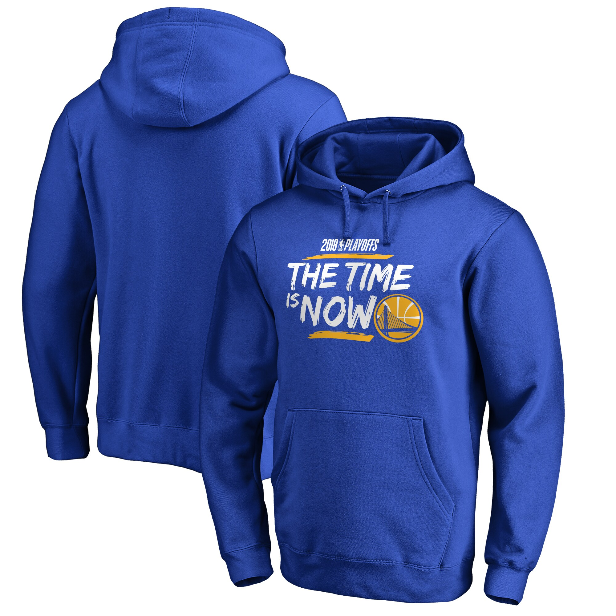Golden State Warriors Fanatics Branded 2018 NBA Playoffs Bet Slogan Pullover Hoodie - Royal