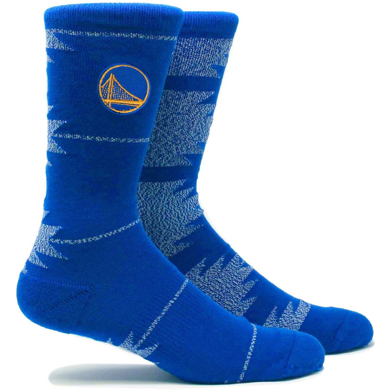 Golden State Warriors Geo Crew Socks