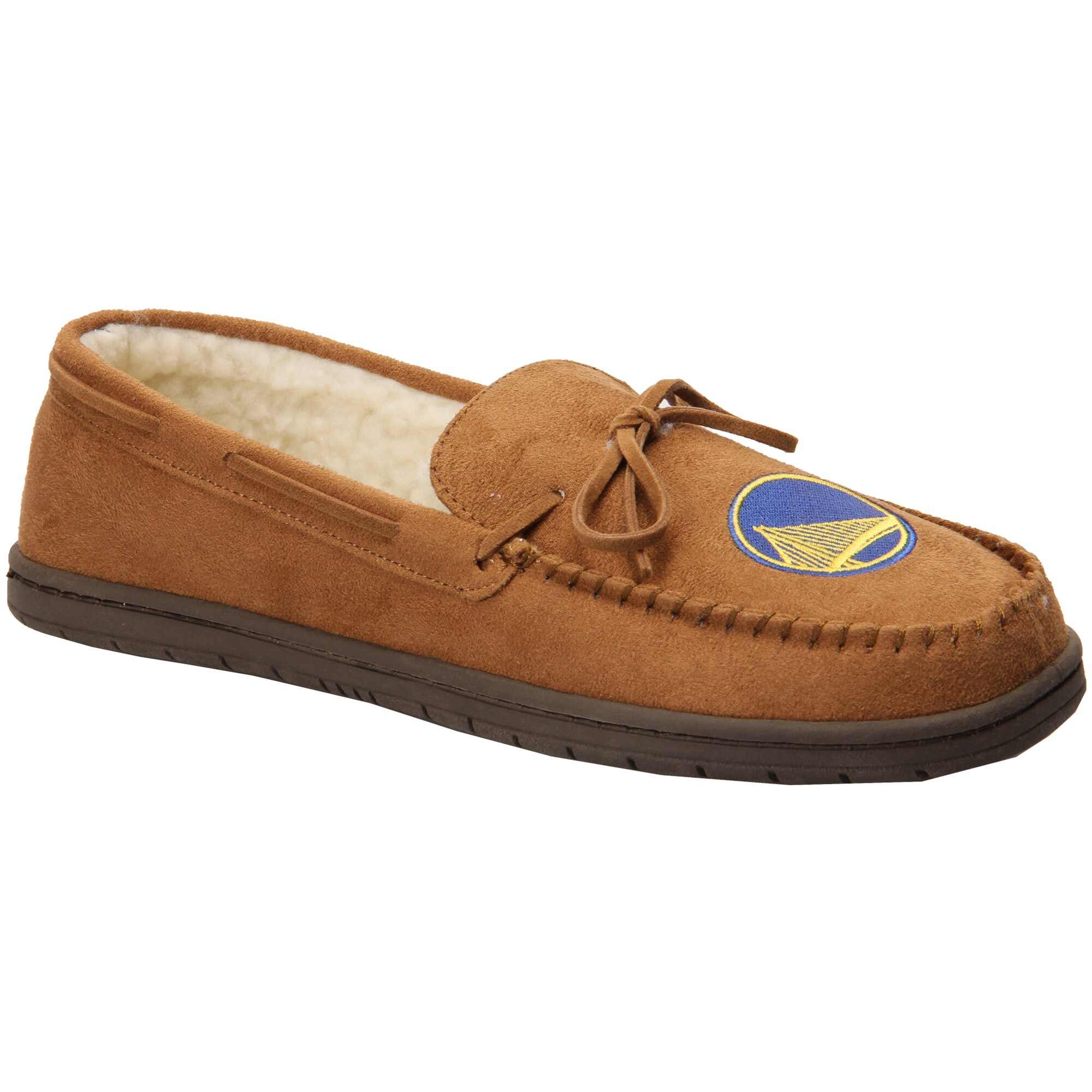 Golden State Warriors Moccasin Slippers