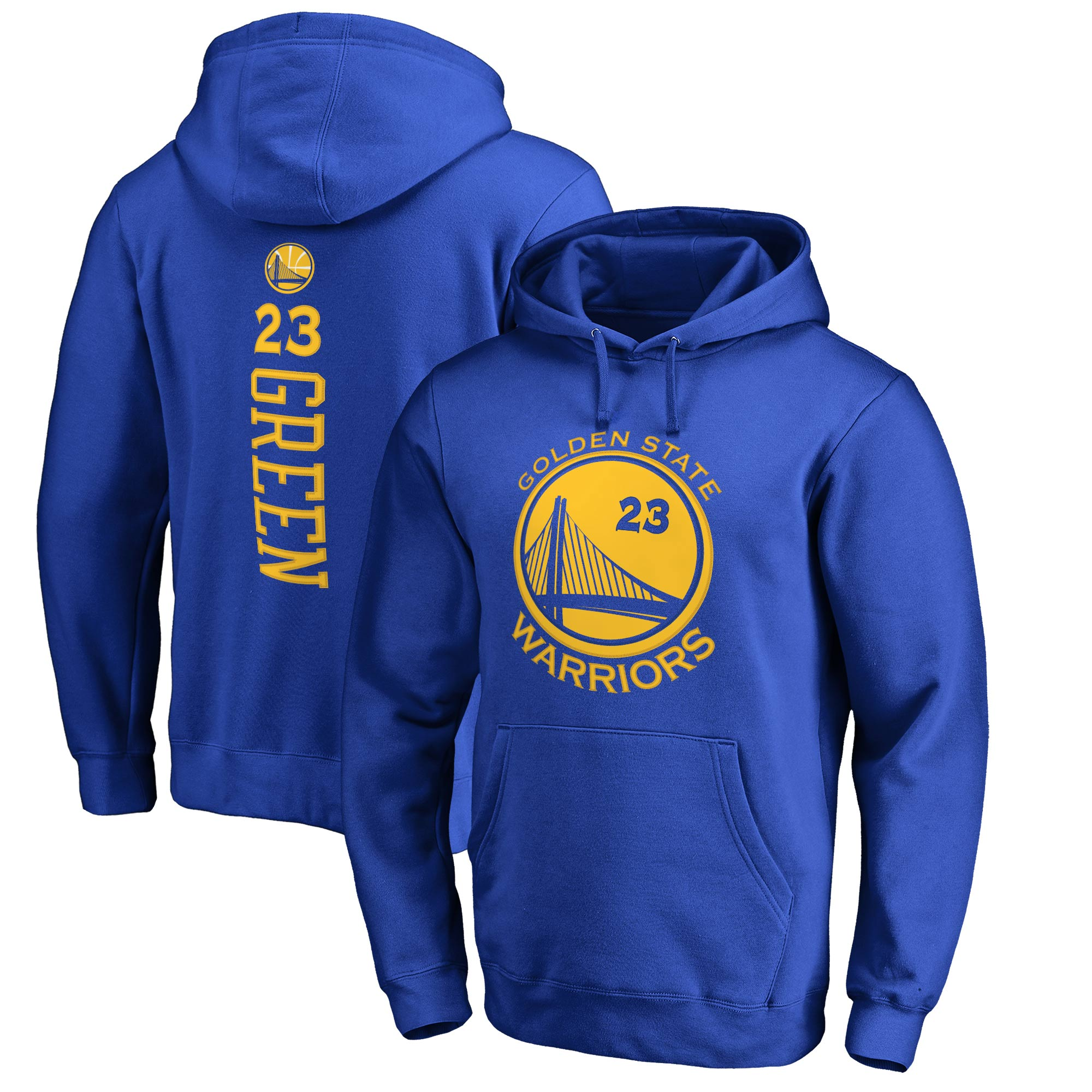 Draymond Green Golden State Warriors Fanatics Branded Backer Pullover Hoodie - Royal