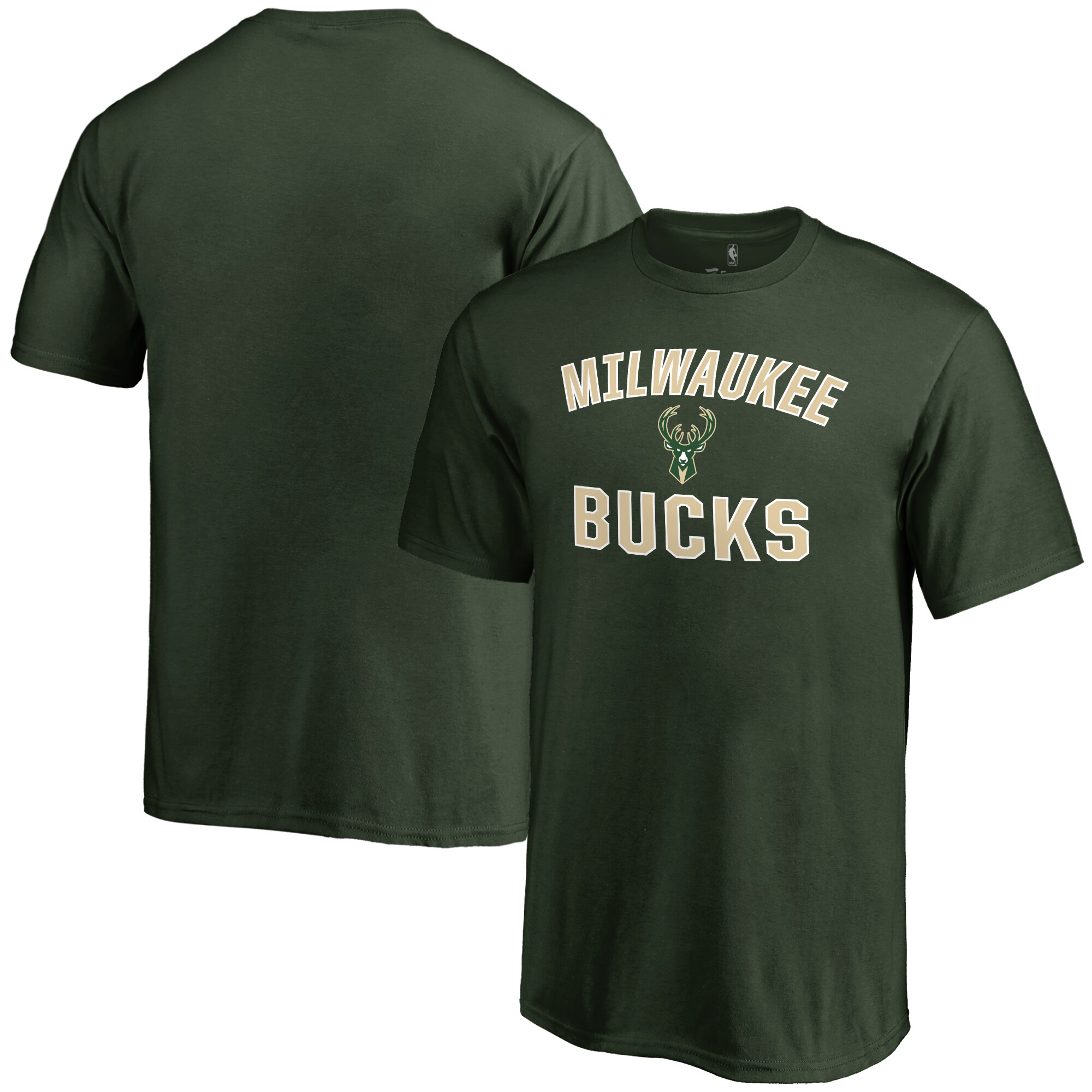 Milwaukee Bucks Youth Victory Arch T-Shirt - Green