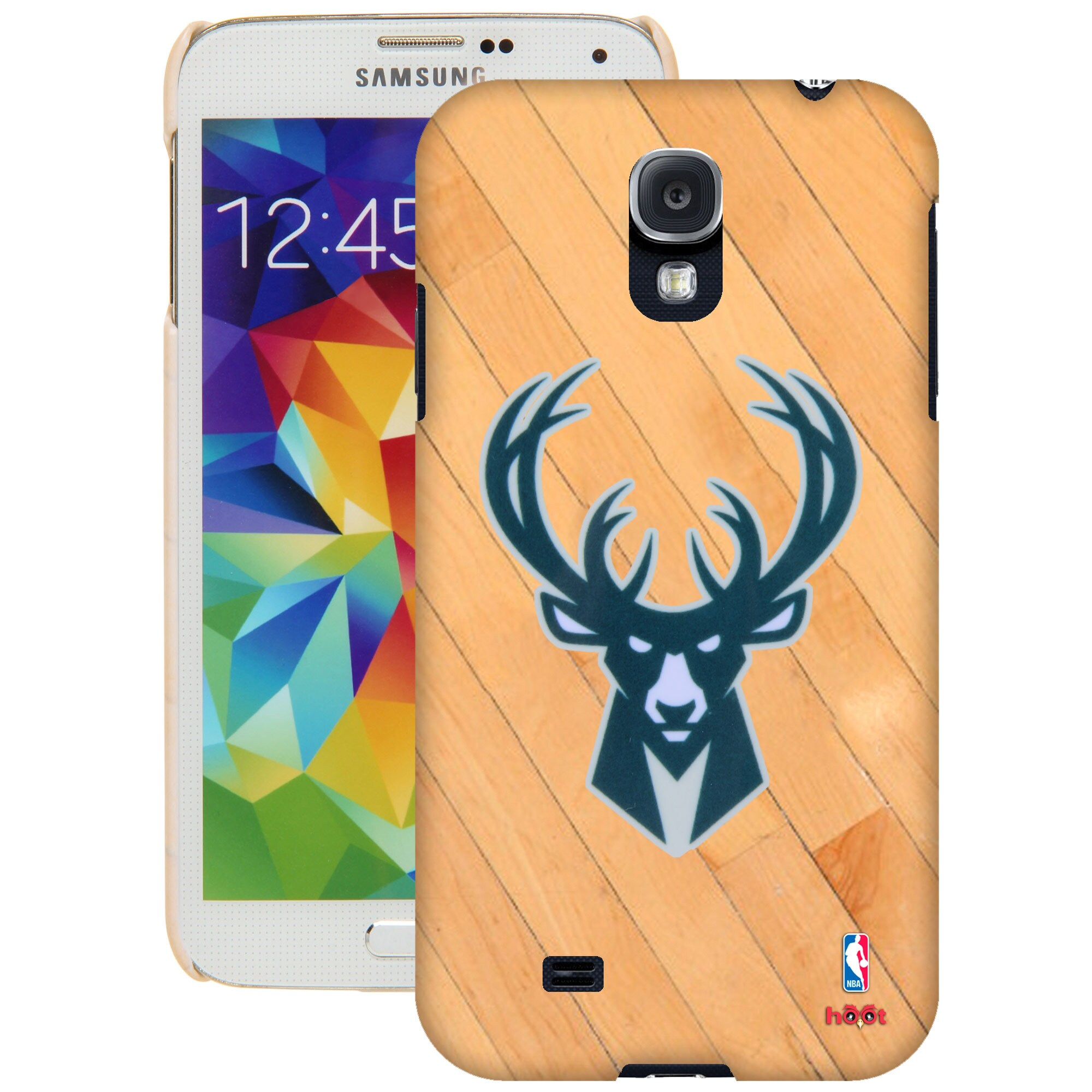 Milwaukee Bucks Galaxy S5 Hardwood Court Case