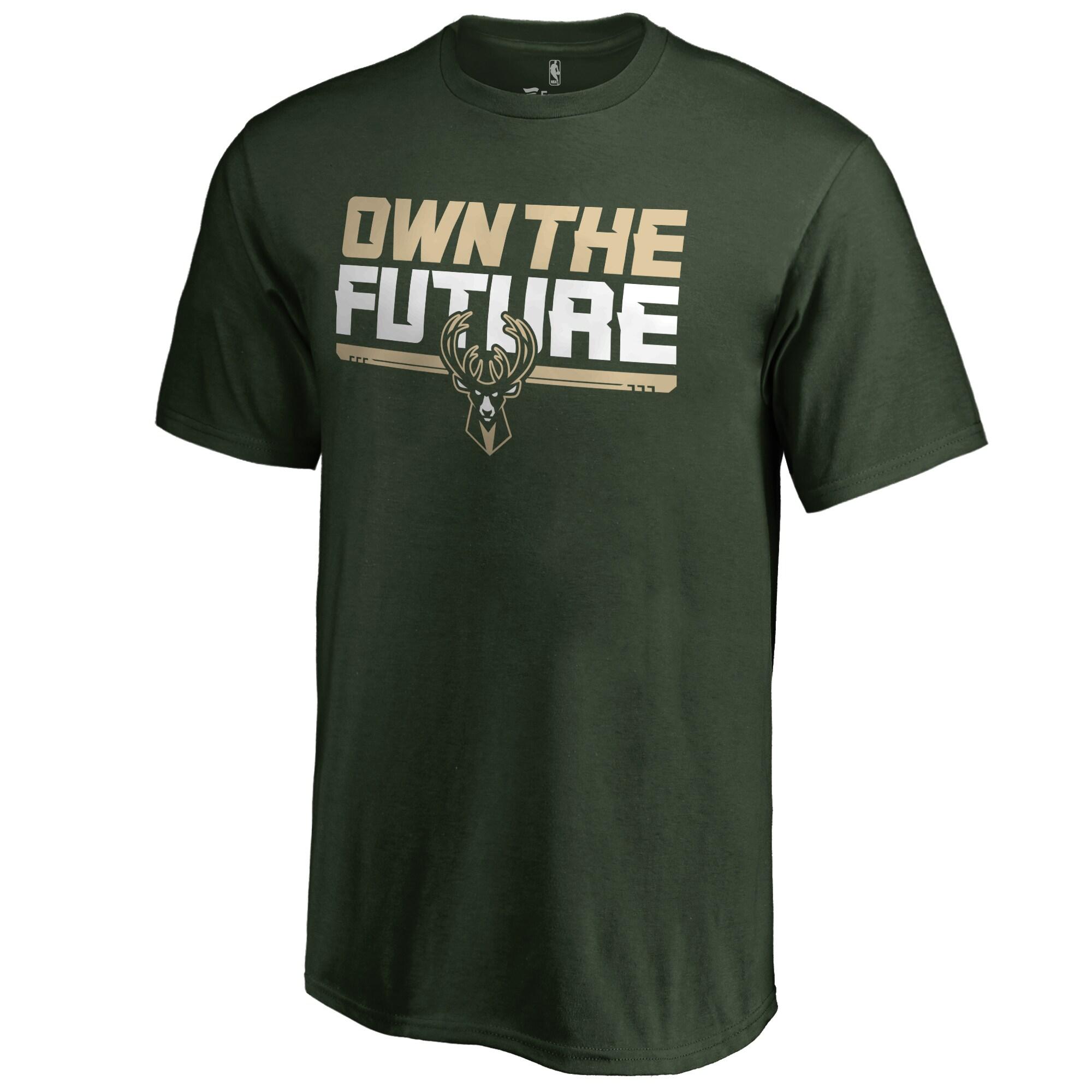 Milwaukee Bucks Youth #Ownthefuture T-Shirt - Green