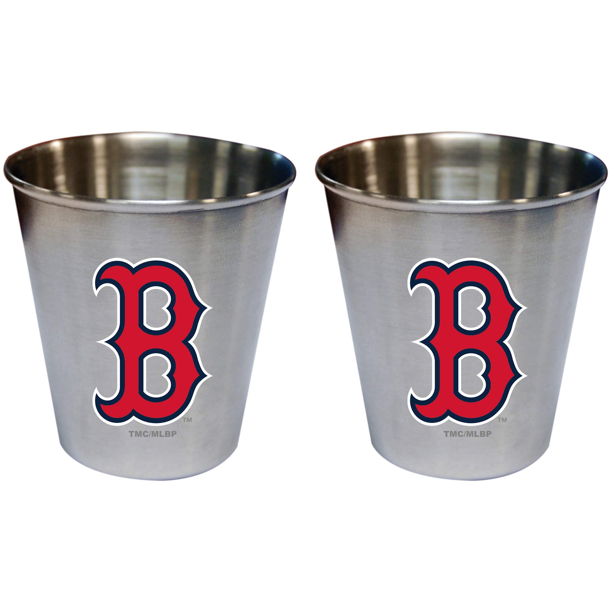 Boston Red Sox 2oz. Stainless Steel Collector Cups Two-Pack Set