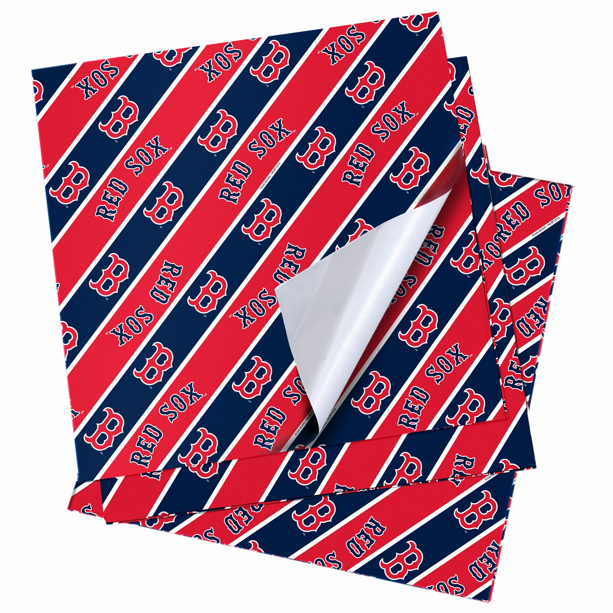 "Boston Red Sox 20"" x 30"" Wrapping Paper"
