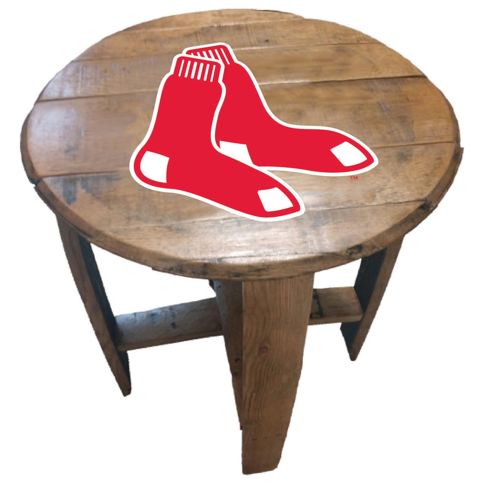 Boston Red Sox Imperial Oak Barrel Table
