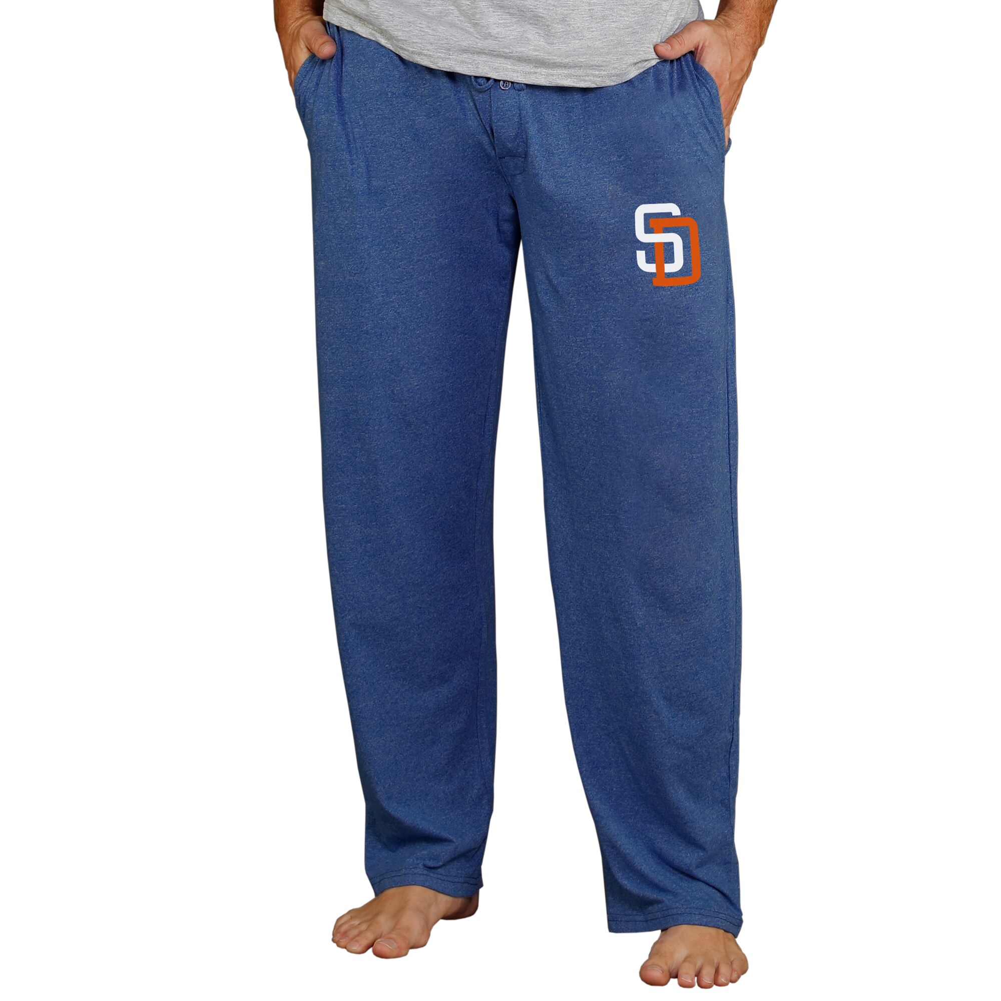 San Diego Padres Concepts Sport Cooperstown Quest Lounge Pants - Navy