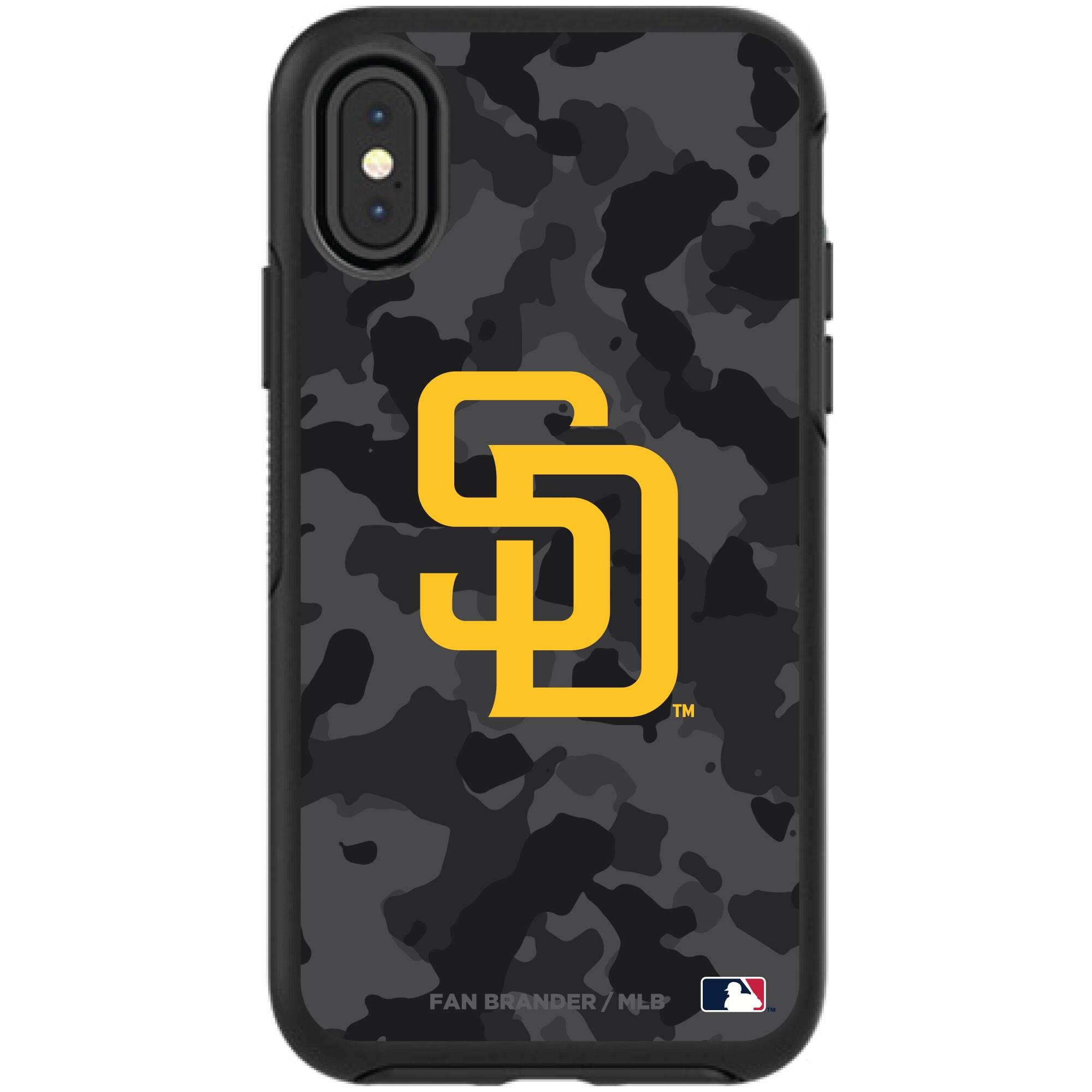 San Diego Padres OtterBox Urban Camo Design Symmetry Series iPhone Case - Black