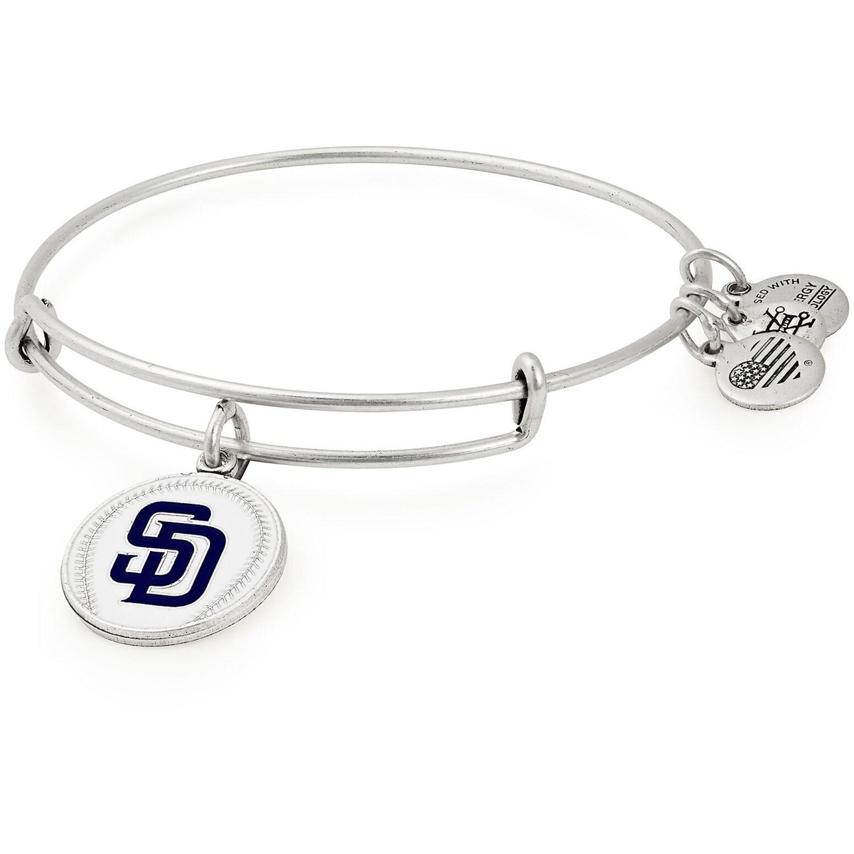 San Diego Padres Alex & Ani Women's Stack Bracelet
