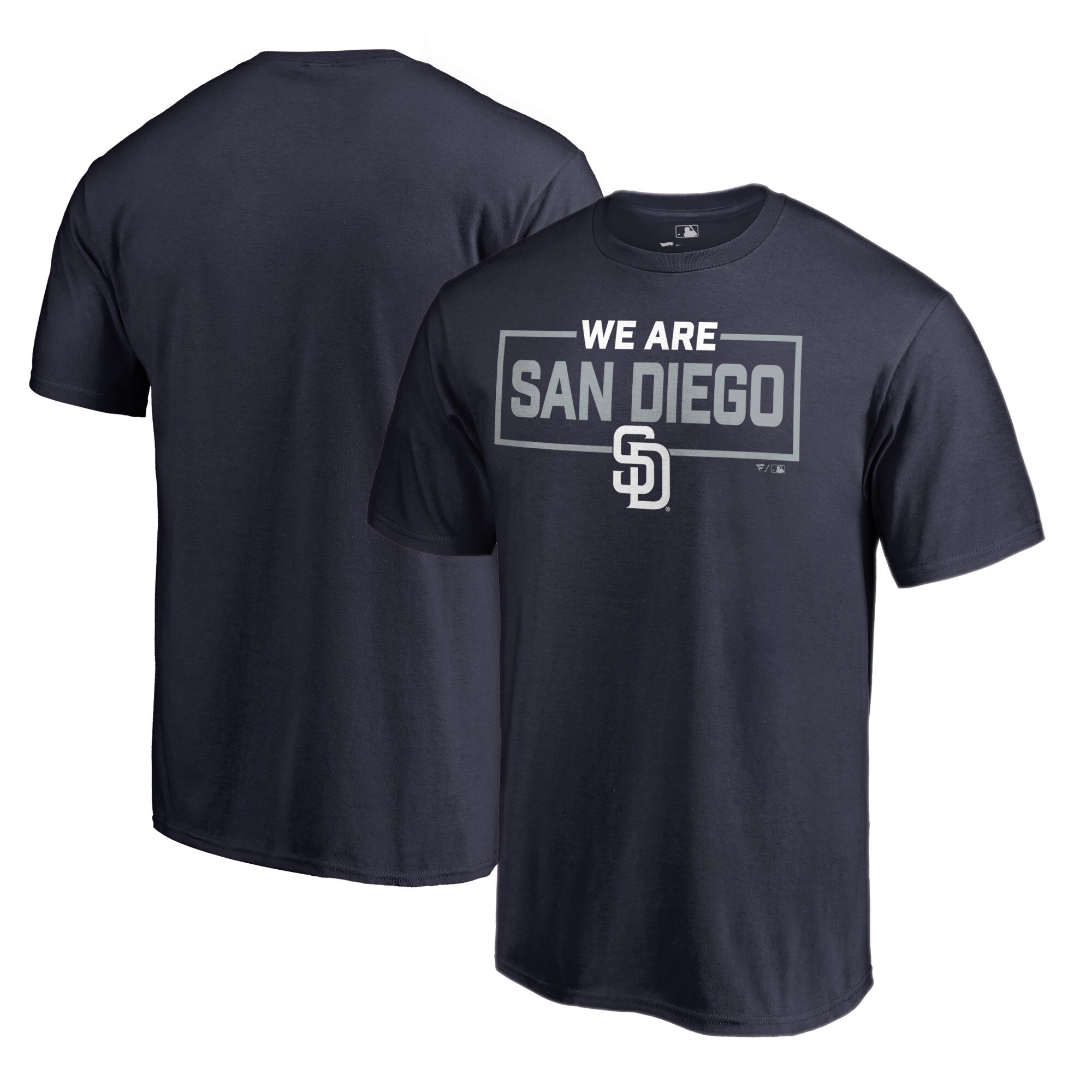 San Diego Padres Fanatics Branded Big & Tall We Are Icon T-Shirt - Navy
