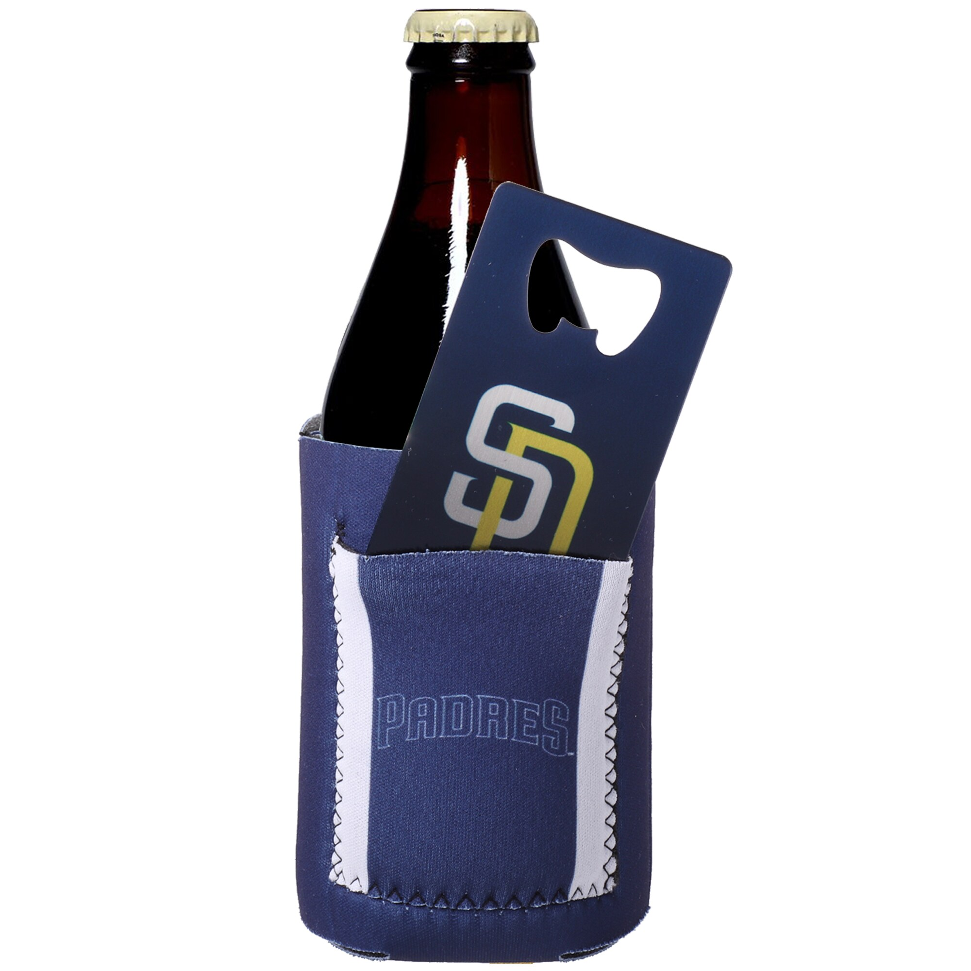 San Diego Padres New Can Insulator with Pocket & Opener