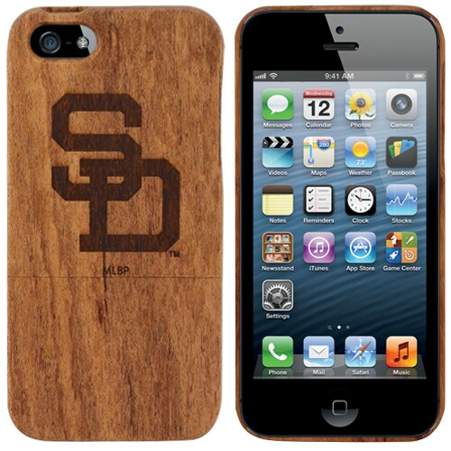 San Diego Padres Wooden iPhone 5 Primary Case