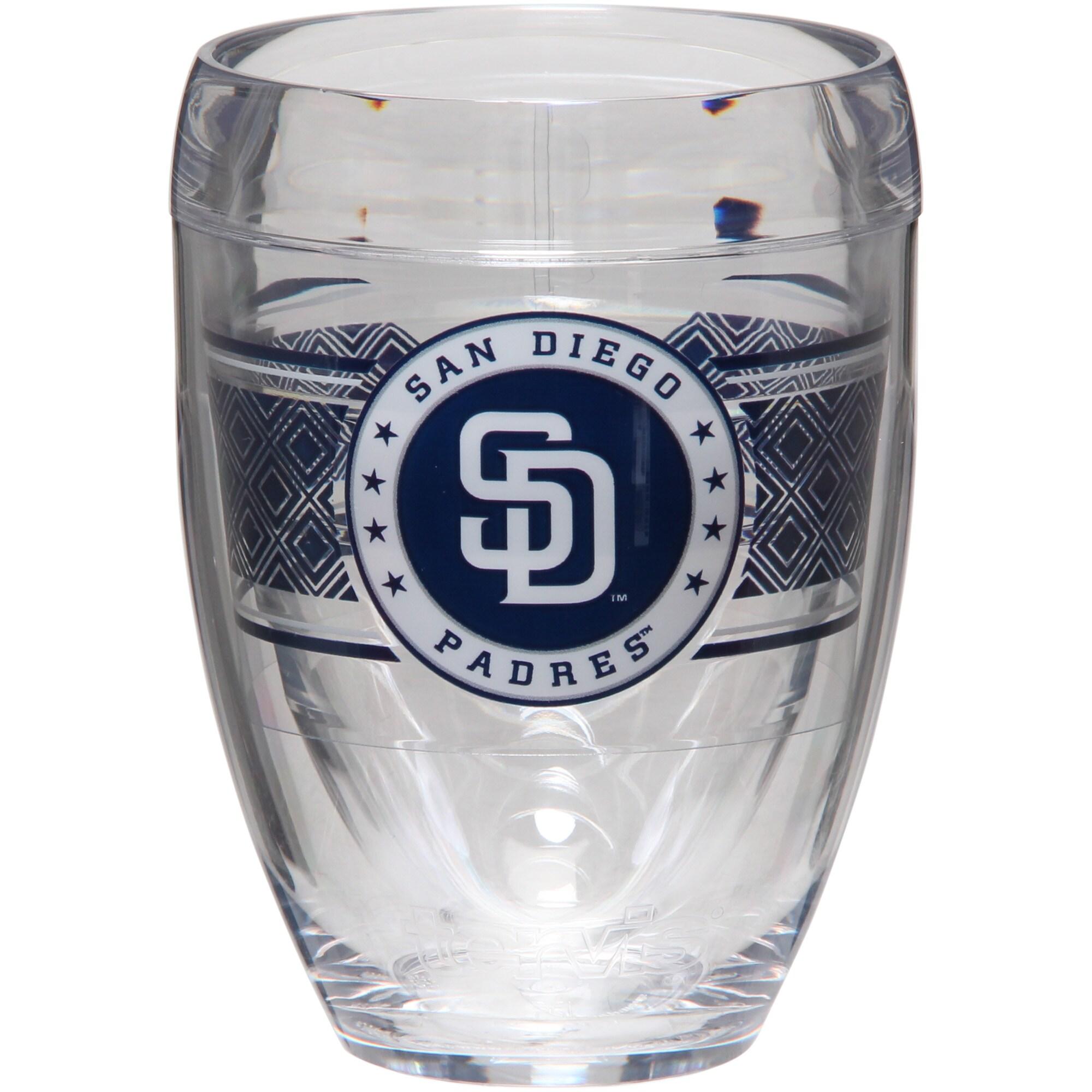 San Diego Padres Tervis 9oz. Stemless Wine Glass
