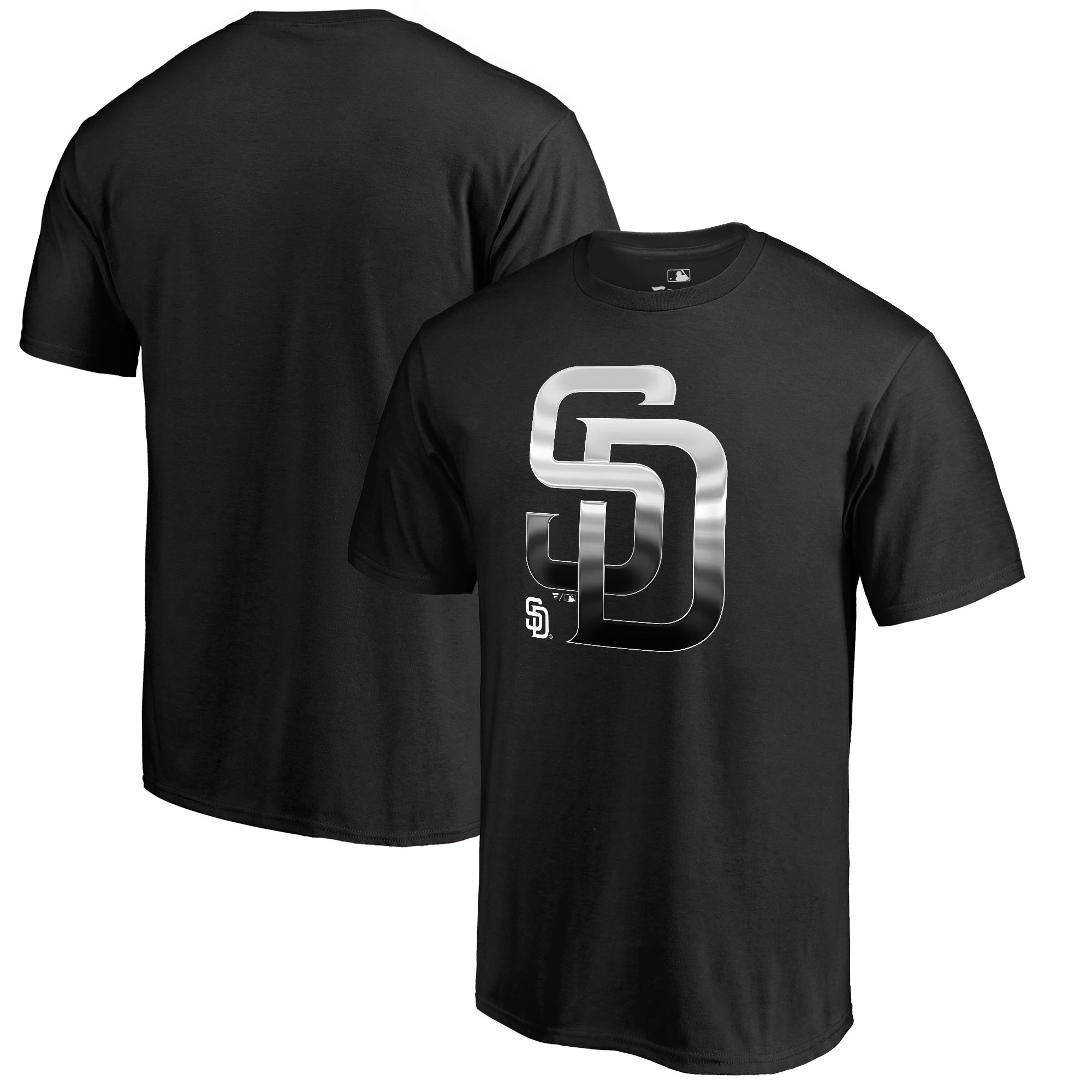 San Diego Padres Fanatics Branded Big & Tall Midnight Mascot T-Shirt - Black