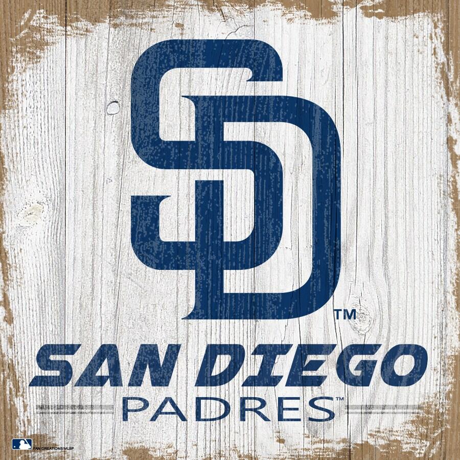 San Diego Padres 6'' x 6'' Team Logo Block
