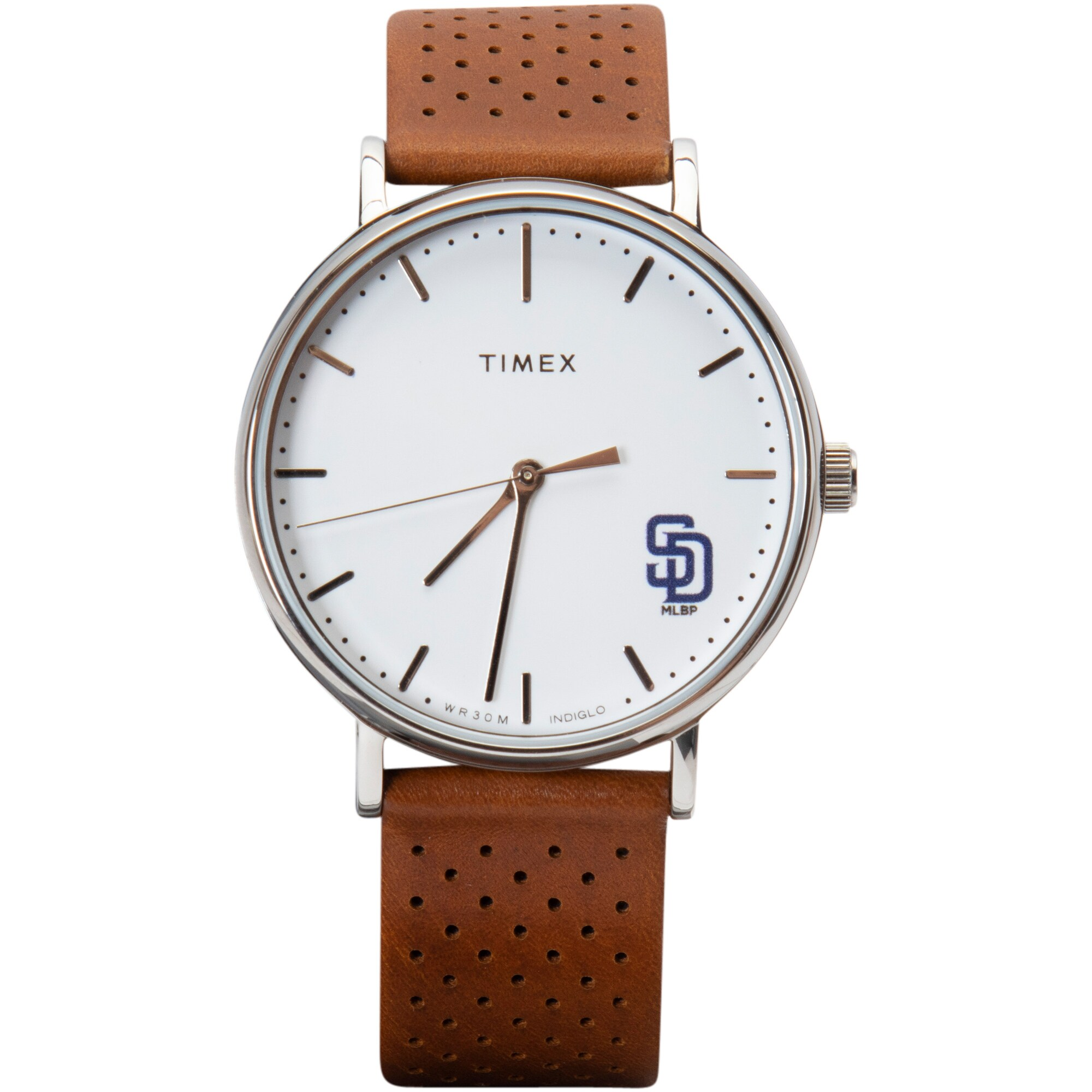 San Diego Padres Timex Bright Whites Tribute Collection Watch