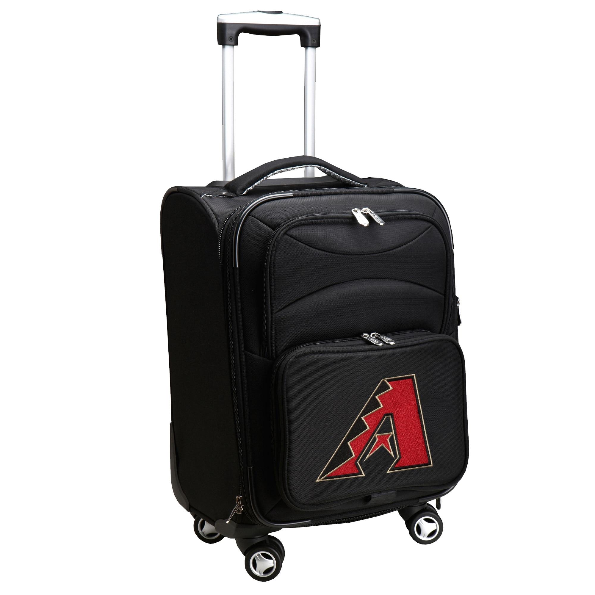 "Arizona Diamondbacks 20"" Spinner Rolling Bag - Black"