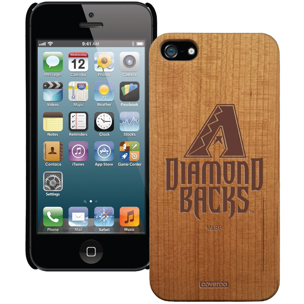 Arizona Diamondbacks Wooden iPhone 5 Primary Case