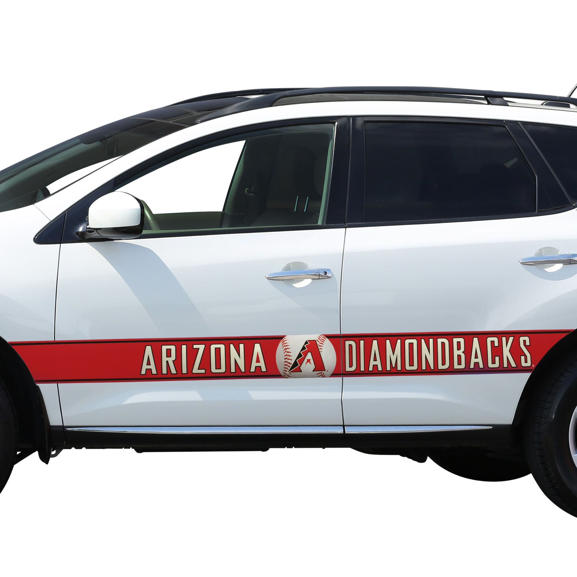 Arizona Diamondbacks Team Ball Racing Stripe Car Decals