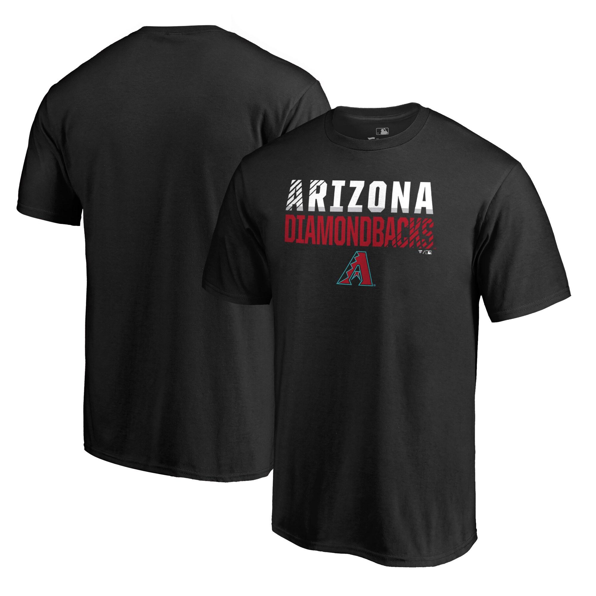 Arizona Diamondbacks Fanatics Branded Fade Out T-Shirt - Black